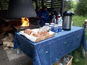 Kahvittelu Muhikon kodalla